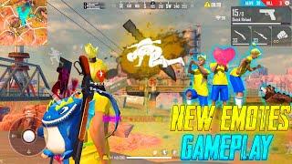 New Legendary Emotes Duo vs Squad OP Gameplay 22 Kills Total || Garena Free Fire || P.K. GAMERS