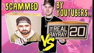 BUYING YOUTUBER MERCH. Who's Is The BIGGEST SCAM? (QIAS OMAR QREW TV VS TheRealRayRay20)