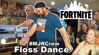 MJR Crew FORTNITE FLOSS Dance! & Kelsey fails College Classes cuz of League of Legends