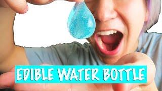 DIY EDIBLE WATER BOTTLE!!!!!