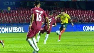 James Rodriguez vs Qatar   2019 HD [Copa America]