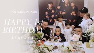 Đỗ Mạnh Cường | Happy 1St Birthday MyMy & Gấu