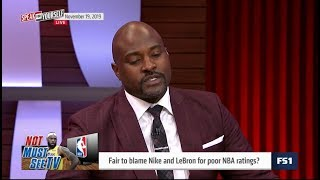 SPEAK for YOURSELF | Fair to blame Nike and LeBron for poor NBA ratings?