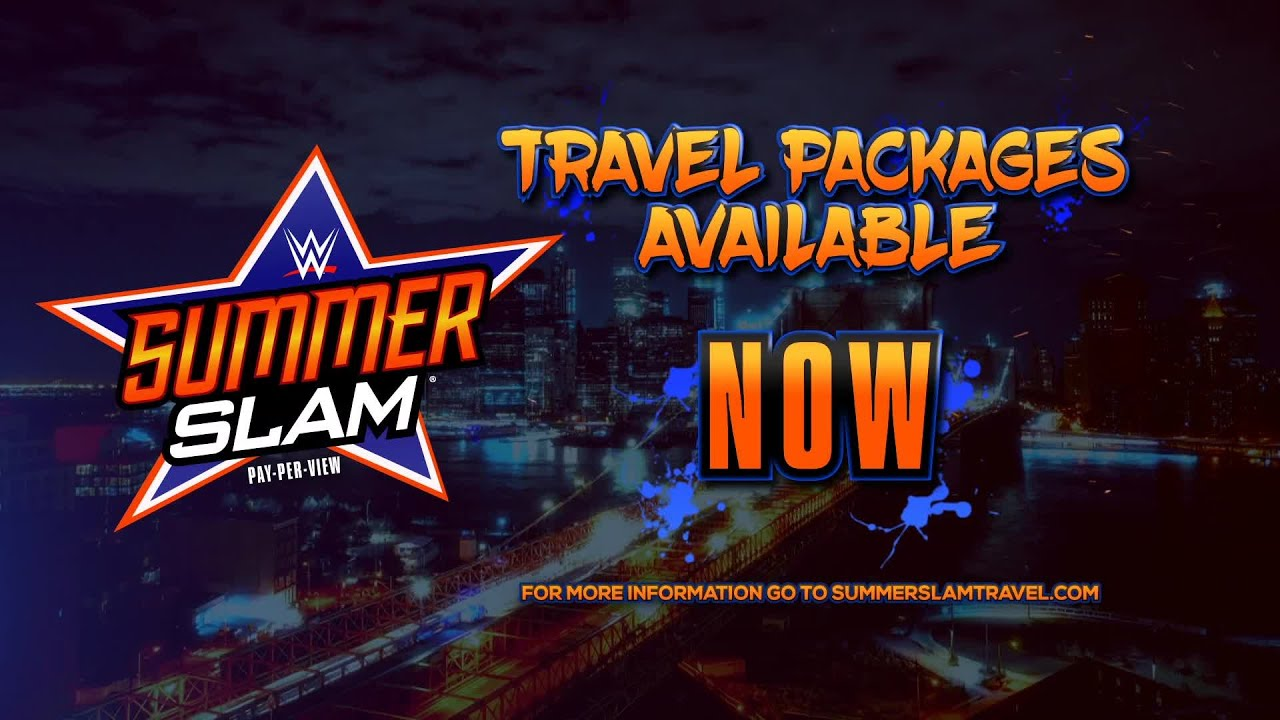 Wwe Travel Packages Wrestlemania