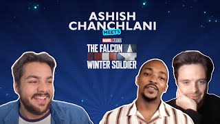 Ashish meets The Falcon and The Winter Soldier