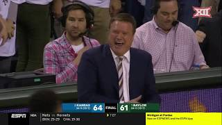 Kansas vs. Baylor Men's Basketball Highlights
