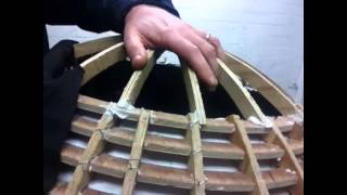 How to make an egg chair part 5