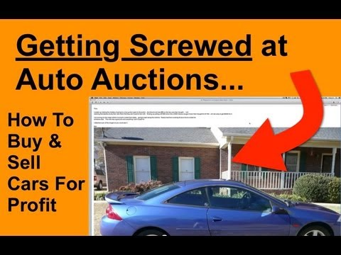 how to buy and sell cars for profit screwed at auctions youtube. Black Bedroom Furniture Sets. Home Design Ideas