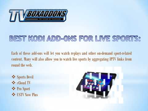 Know Some of the Best Sports Kodi TV Box Add-ons