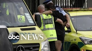 Multiple people killed in mass shooting at New Zealand mosques