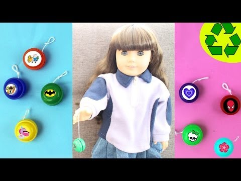 "How to make mini Yo-Yos for your 18"" American girl doll"