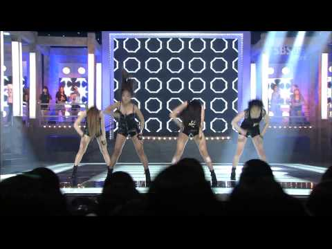 Hyuna & SISTAR   Dance Special Stage Inkigayo 2011 08 21