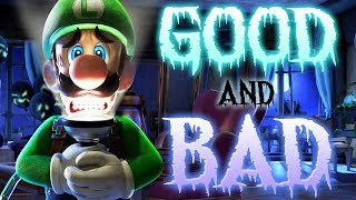 The Good and Bad of Luigi's Mansion 3