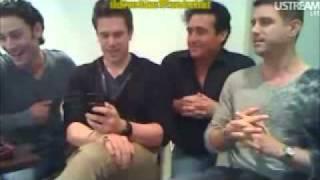 IL Divo UK Webchat 10-28-2011 1st