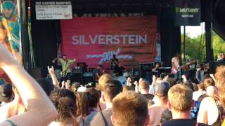 Silverstein - Smile In Your Sleep | Live At Vans Warped Tour | 2017