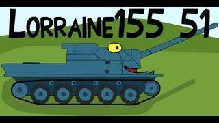 КРАНты #20 - Lorraine155 51 - 9.1к урона
