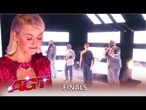 Voices Of Service : Julianne Hough BREAKS DOWN After This! | America's Got Talent 2019