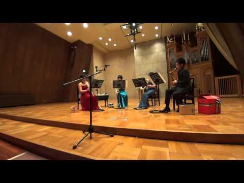Tsukuba Saxophone Quartet - C.Corea/S.Asai - Armando's Rhumba