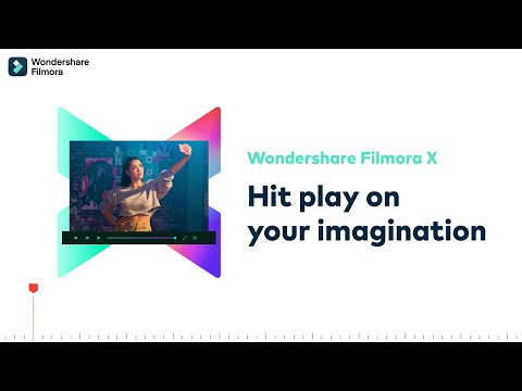 Wondershare Unveils Filmora X the Next Generation Video Editor