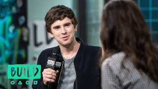 "Freddie Highmore Discusses ""The Good Doctor"""