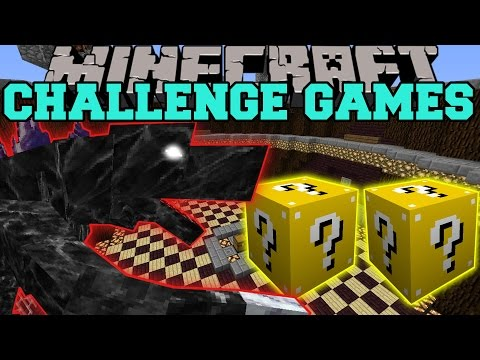 Minecraft: MOBZILLA CHALLENGE GAMES - Lucky Block Mod - Modded Mini-Game