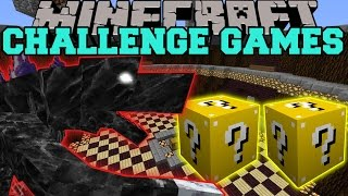 Minecraft: MOBZILLA CHALLENGE GAMES - Lucky Block Mod - Modded Mini-Game
