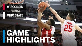 Highlights: Iverson Lifts Wisconsin to OT Win | Wisconsin at Ohio State | March 10, 2019