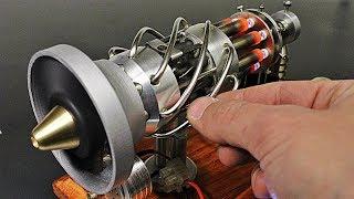 16 Cylinder Gas Powered Stirling Engine