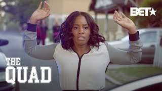 Anika Noni Rose Gets Assaulted As Her Character | The Quad