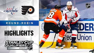 NHL Highlights | Capitals @ Flyers, Round Robin - Aug. 6, 2020