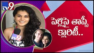 Taapsee confirms being in a relationship, talks about her ..