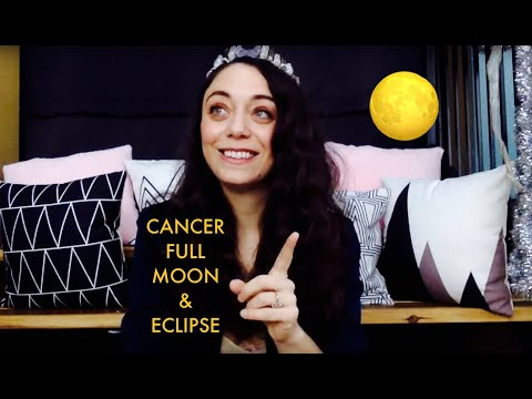 Moon Magic - Cancer Full Moon and Lunar Eclipse - January 2020
