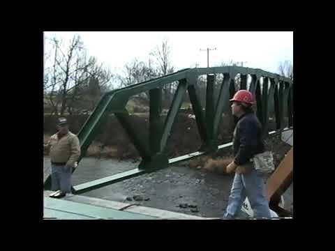 Paquette Bridge Construction part two 11-22-91