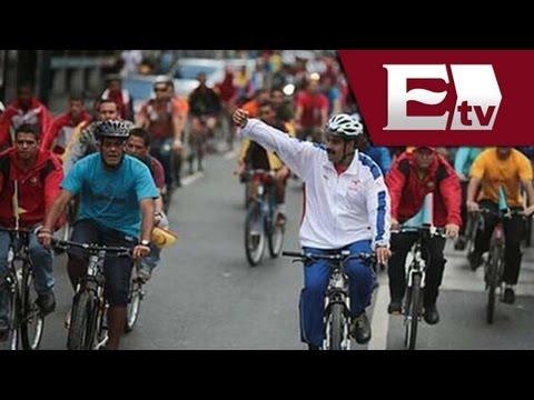Presidente Venezolano, Nicolás Maduro, sufre accidente en bicicleta / Vianney Esquinca