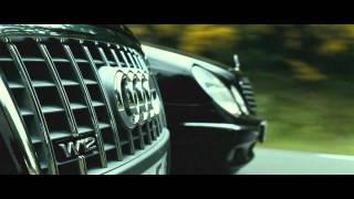 TRANSPORTER 3 - Audi A8 vs. Mercedes E-class [HD]