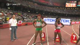 Shelly-Ann FRASER-PRYCE wins 100m Final - 10.76 Beijing World Championships 2015