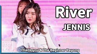 190512 BNK48 Jennis - River @ BNK48 Thank you & The Beginner Rayong [4k 60p]