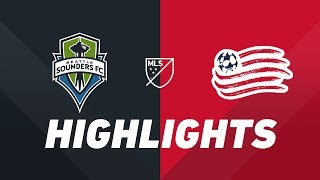 Seattle Sounders FC vs. New England Revolution | HIGHLIGHTS - August 10, 2019