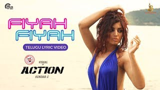 Action Telugu- Fiyah Fiyah Lyric Video- Vishal, Akanksha P..