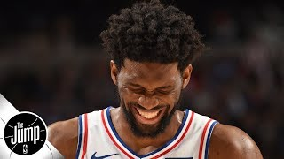 Joel Embiid does not want to be called fragile - Rachel Nichols | The Jump