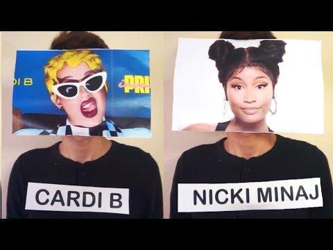 If Nicki Minaj and Cardi B Had A Rap Battle..