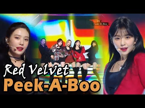 Red Velvet- Peek A Boo,레드벨벳- Peek A Boo @2017 MBC Music Festival