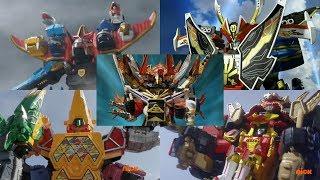 Neo-Saban Power Rangers Ultrazords | Samurai, Megaforce, Dino Super Charge, & Ninja Steel