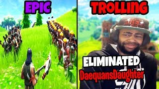 FORTNITE STREAM SNIPERS COMPILATION #3 (Epic vs Trolling)