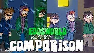 Eddsworld WTFuture Reanimatedd Collab - COMPARISON