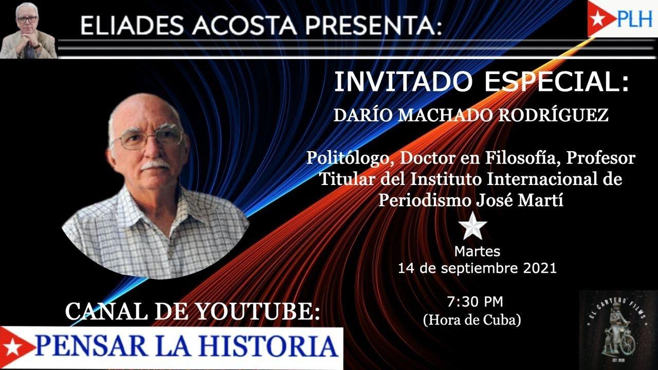 DESDE LA HABANA; INVITADO ESPECIAL: DR. DARIO MACHADO RODRIGUEZ.