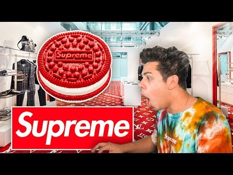 SUPREME IS SELLING AN OREO!!! SS20 LOOKBOOK REACTION