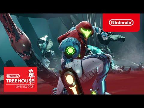 Metroid Dread - Nintendo Treehouse: Live | E3 2021 - Part 2