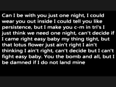 Wale-Lotus Flower Bomb Lyrics feat Miguel