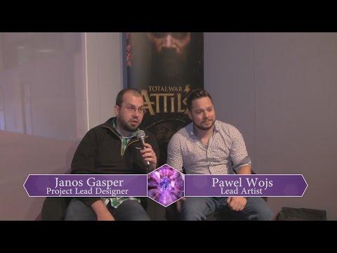 EGX: Total War: Atilla - Interview with Janos Gasper and Pawel Wojs